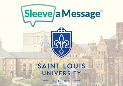 Sleeve a Message Custom Coffee Sleeves - SLU Speech