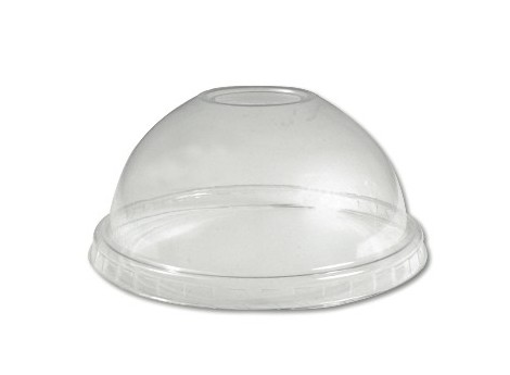 Clear PET Dome Lids for 12-24oz Cold Cups